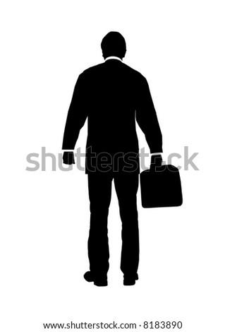 Business man - stock photo