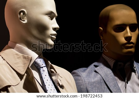 Business man doll  - stock photo