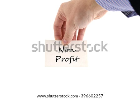 Business man hand and card isolated on white - stock photo