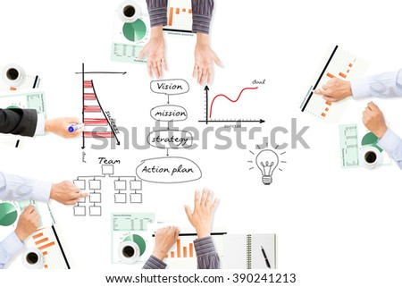 Business man meeting for success business ,business concept. - stock photo