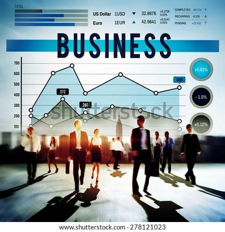 Business Marketing Strategy Organization Concept - stock photo