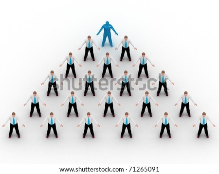 Business Network. - stock photo