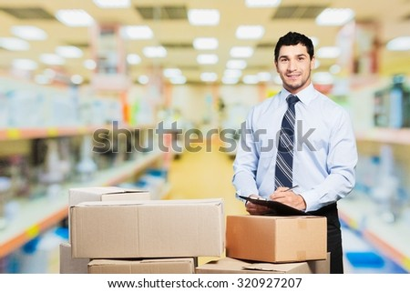 Business owner. - stock photo