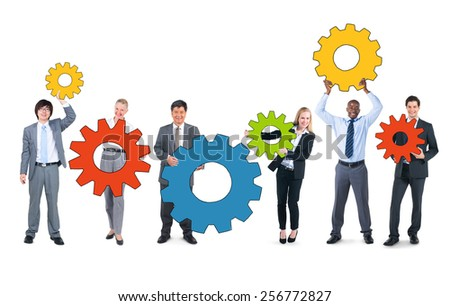 Business People and Teamwork Concepts - stock photo