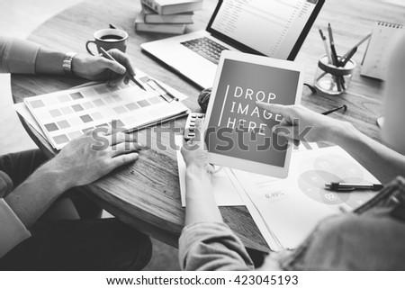 Business People Creativity Design Studio Ideas Concept - stock photo