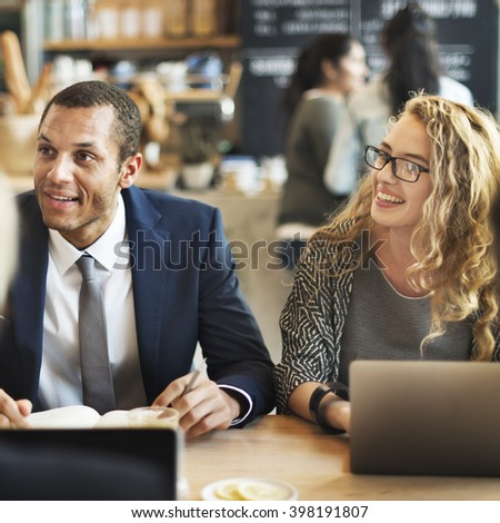 Business People Discussion Ideas Meeting Concept - stock photo