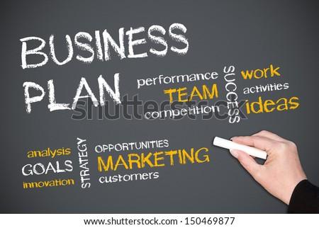 Business Plan - stock photo