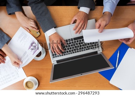 Business, Planning, Meeting. - stock photo