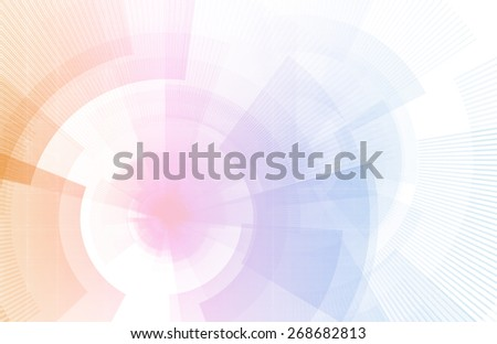 Business Portal with Internet Technology as Art - stock photo