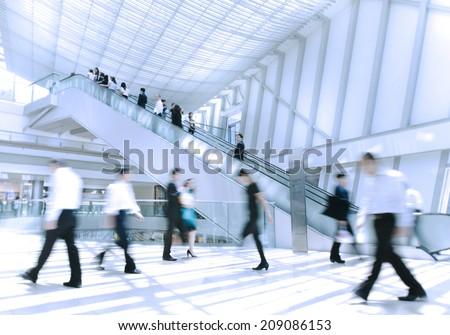 Business rush hour. - stock photo