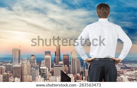 Business, sign, road. - stock photo