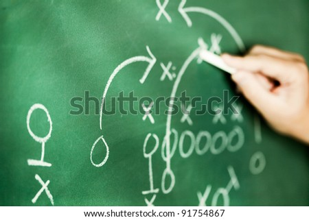 business strategy - stock photo