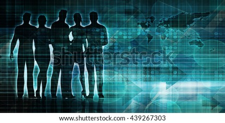 Business Strategy and Project Scheduling on a Graph 3D Illustration Render - stock photo