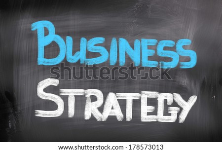 Business Strategy Concept - stock photo