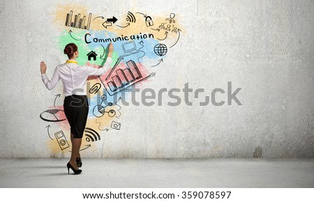 Business strategy planning - stock photo