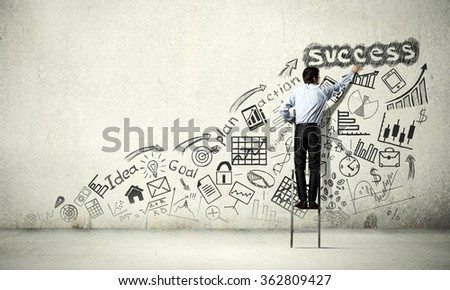Business strategy seminar - stock photo