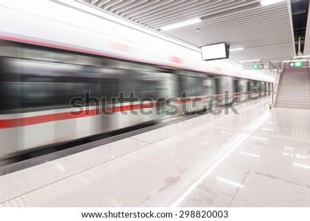 business subway - stock photo