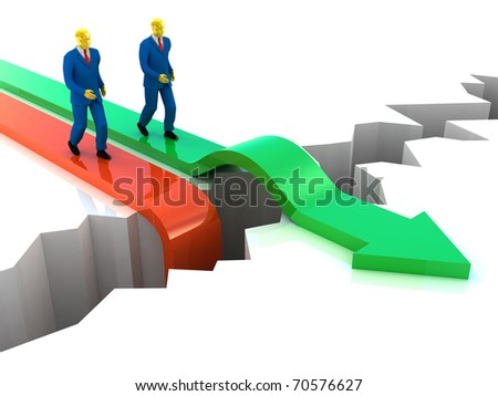 Business Success. Competition  concept - stock photo