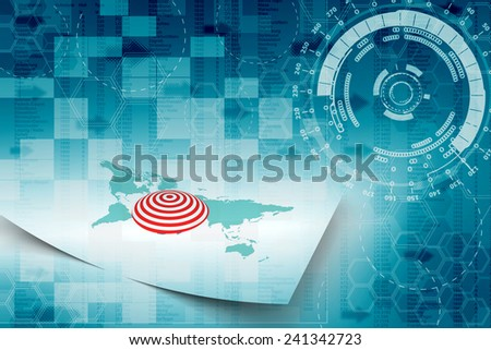 business target - stock photo