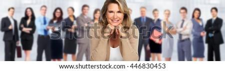 Business team. - stock photo