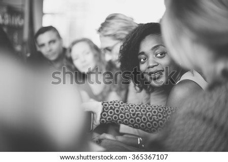 Business Team Meeting Discussion Working Concept - stock photo