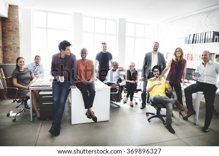 Business Team Professional Occupation Workplace Concept - stock photo