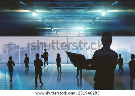 Business team,Team work, business concept - stock photo