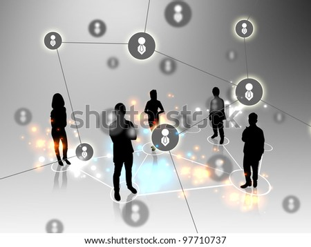 Business team . teamwork concepts - stock photo