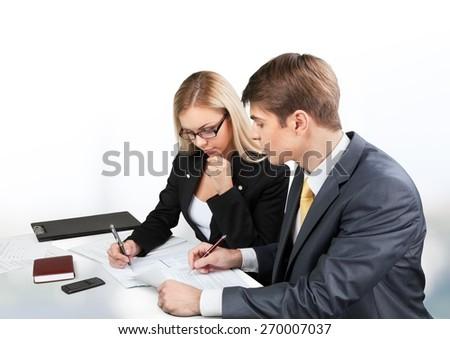 Business, Training, Meeting. - stock photo