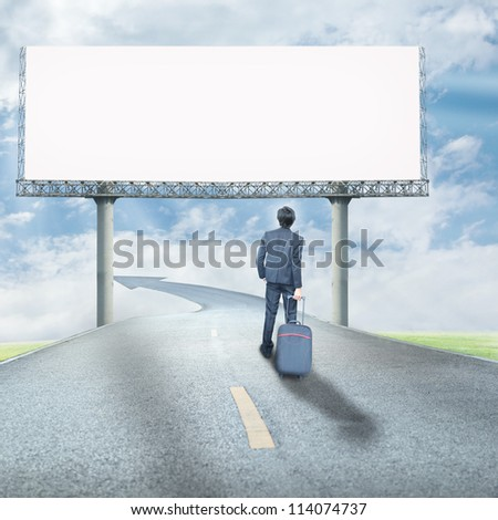 Business way - stock photo
