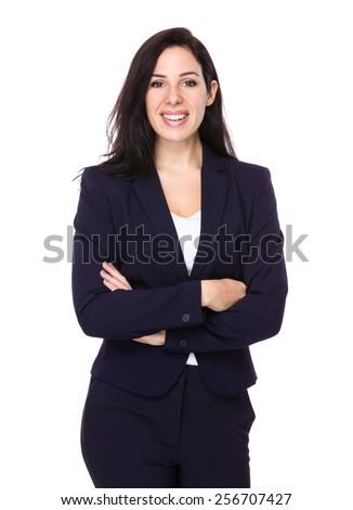 Business woman portrait - stock photo