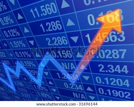 businesschart - stock photo