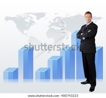 Businessman. - stock photo