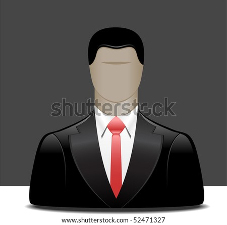 Businessman. - stock photo
