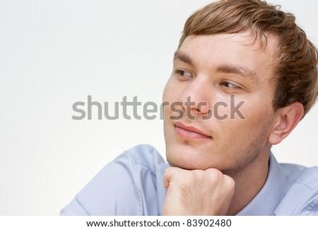businessman dreaming - stock photo