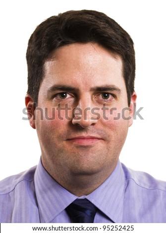 Businessman headshot portrait - stock photo