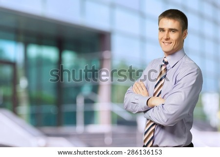 Businessman, Men, Business. - stock photo