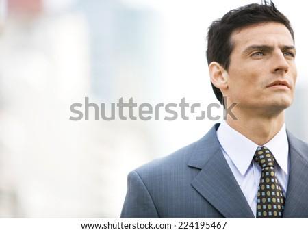 Businessman, portrait - stock photo