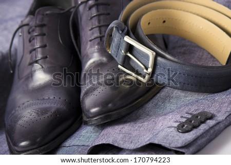 Businessman's accessories - stock photo