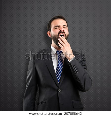 Businessman Yawn Stock Photos, Businessman Yawn Stock ...