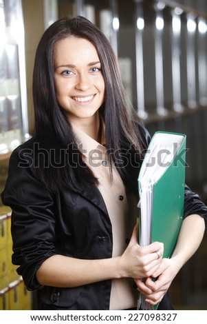 bussines woman  - stock photo