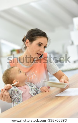 Busy Mom Stock Photos, Images, & Pictures | Shutterstock