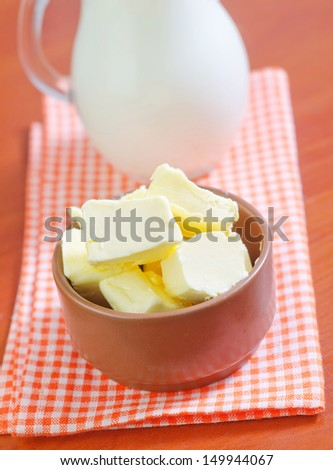 butter - stock photo