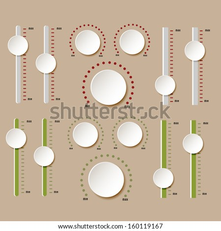 Button,  design elements - stock photo