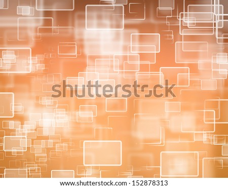button on a touch screen interface - stock photo