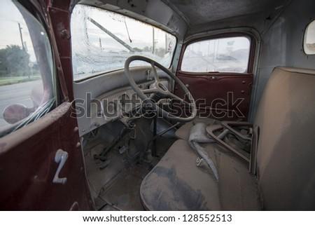 Cab - stock photo