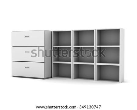 Cabinets - stock photo