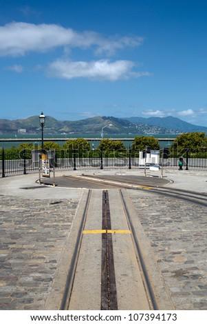 cable car, San Francisco - stock photo