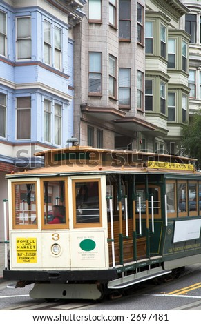 Cable Car (San Francisco) - stock photo