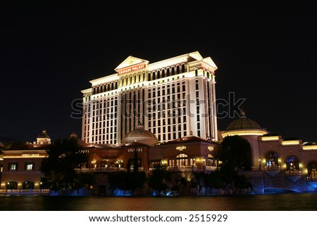 Caesar's Palace Hotel and Casino, in Las Vegas, Nevada - stock photo